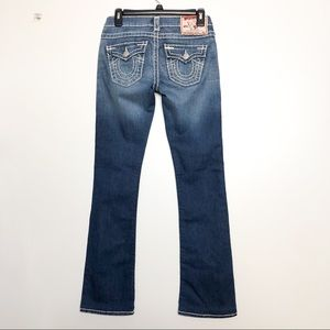True Religion Becky Super T Bootcut Low Rise Jeans